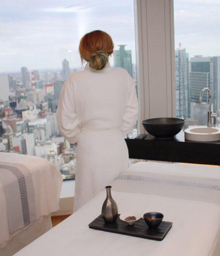 Andaz Tokyo Review - Andaz AO SPA jiyujizai apothecary with a view