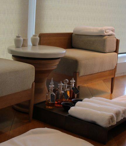 Andaz Tokyo Review - Andaz AO SPA jiyujizai apothecary foot treatment