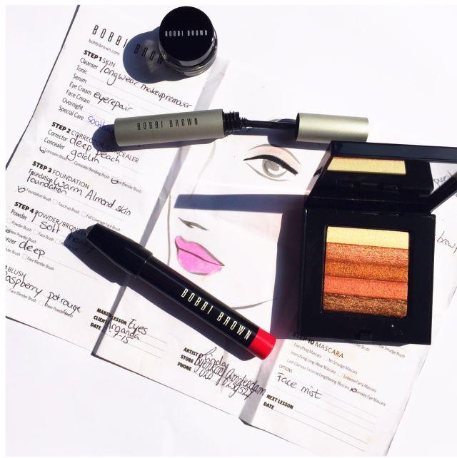 Bobbi Brown Make-up Lession