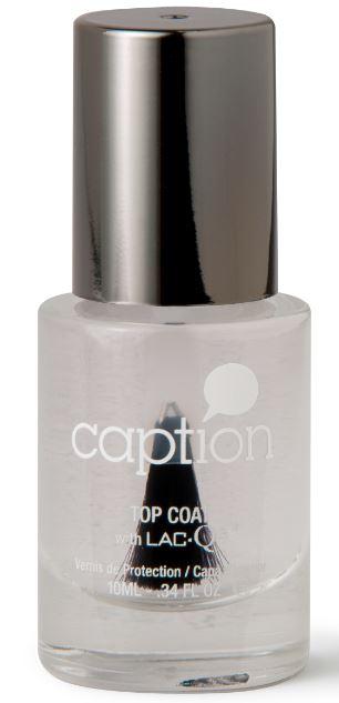 Caption Nail Polish Top Coat   15,95