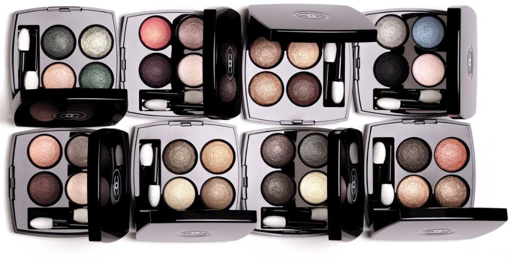 Chanel Eyeshadow Quads