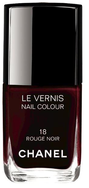 Chanel Nails -Rose Noir