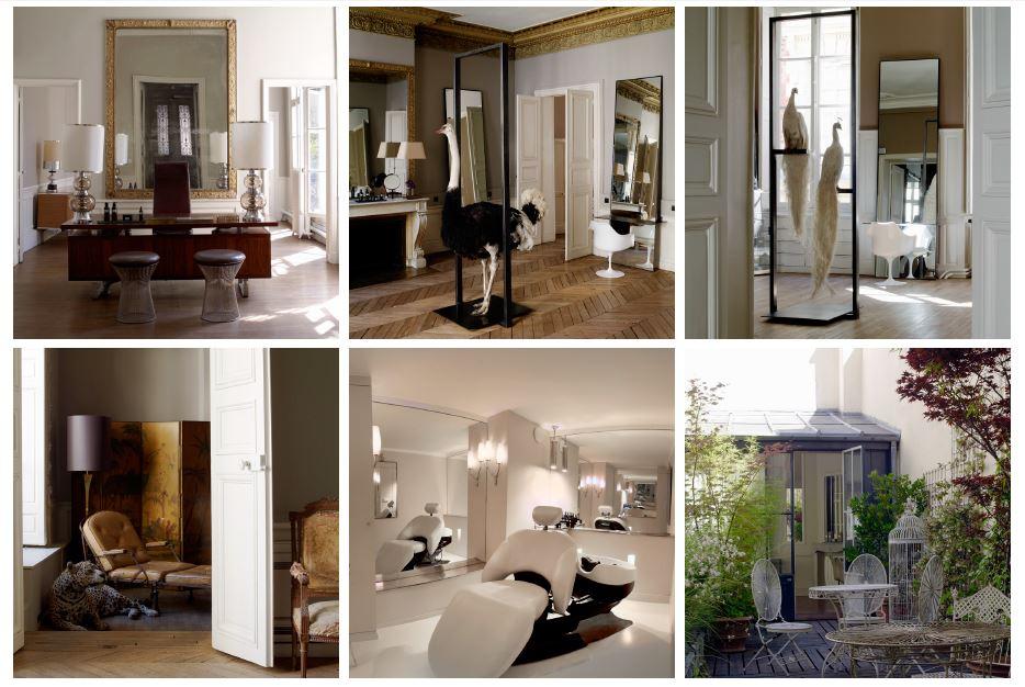 Black and white hair salon joy studio design gallery for Best hair salon in paris france