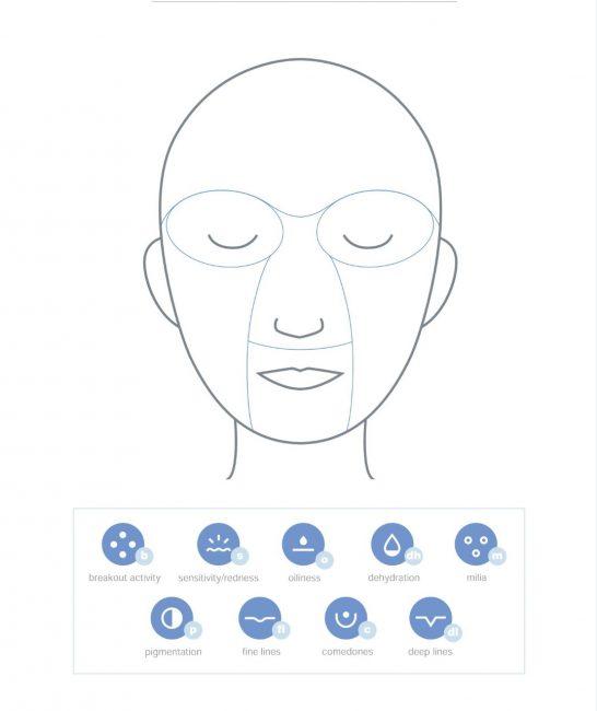 Dermalogica Skin Mapping on