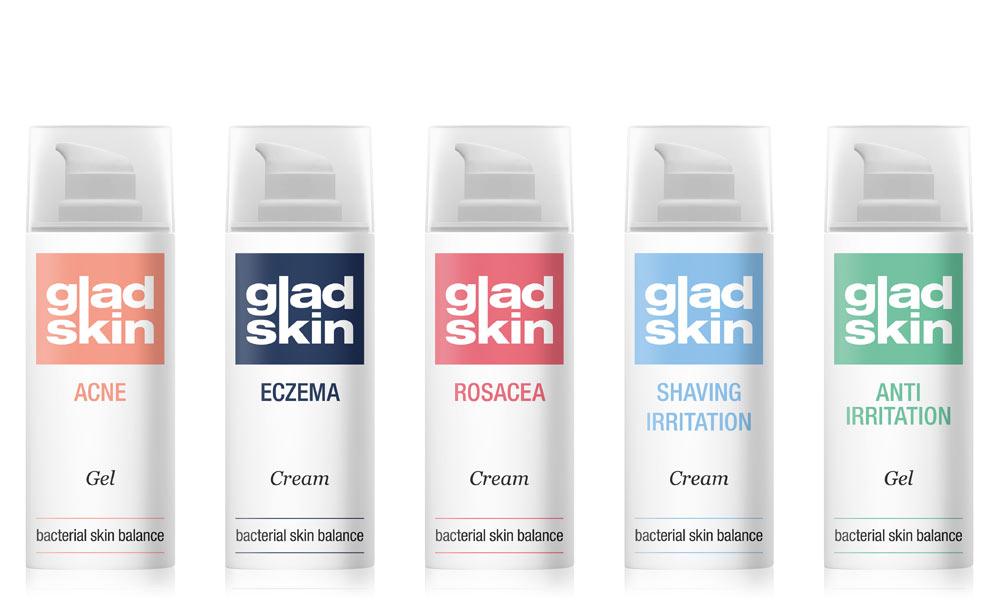 Gladskin bottles