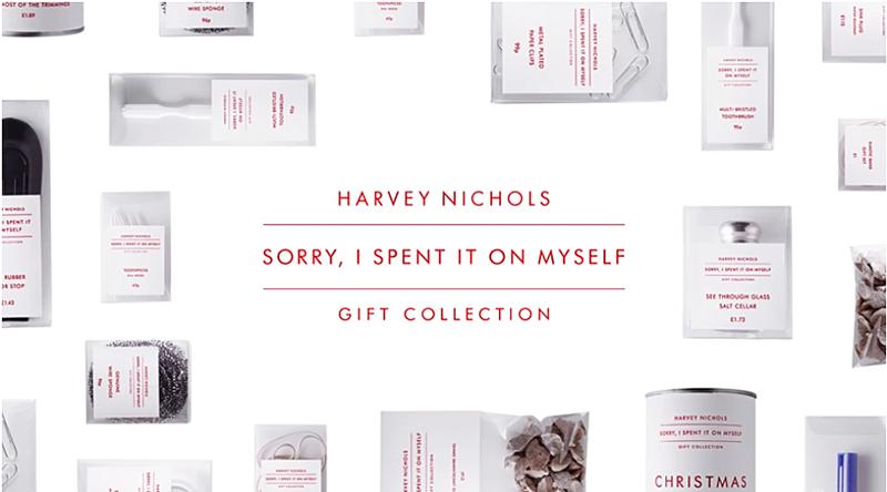Harvey Nichols I spent it all on myself