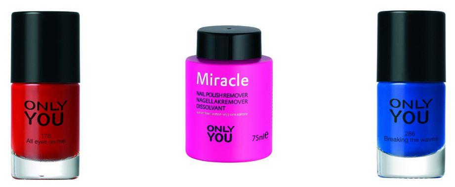 Only You nailpolish € 4,99 | Miracle nal polish remover € 6,65