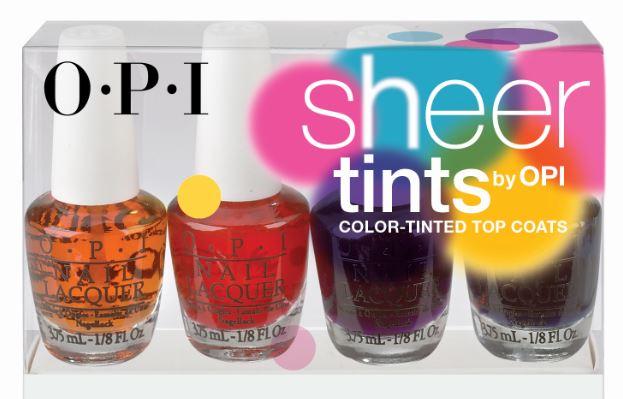 O.P.I. Sheer Tints