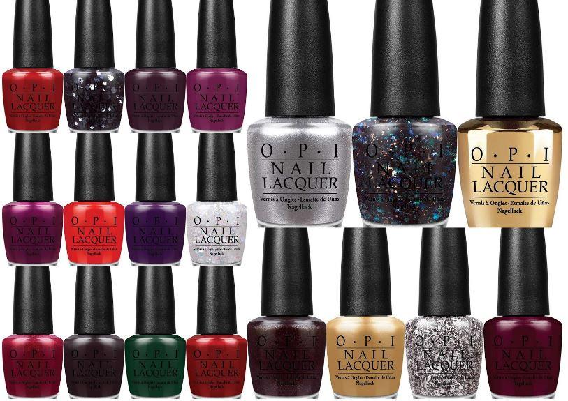 OPI Christmas collection 2014 | OPI nail polish 15ml €14,25