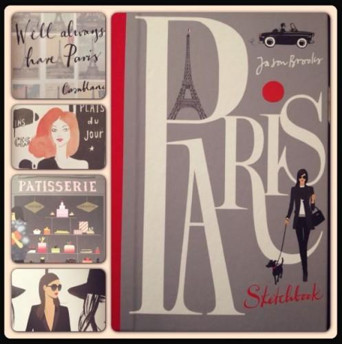 A Paris Sketchbook by Jason Brooks (2013, Hardcover)