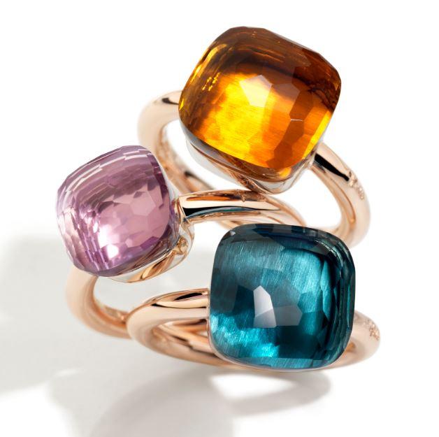 Pommelato rings