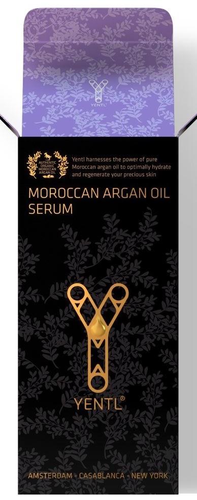 Yentl Argan Oil Face Serum Box