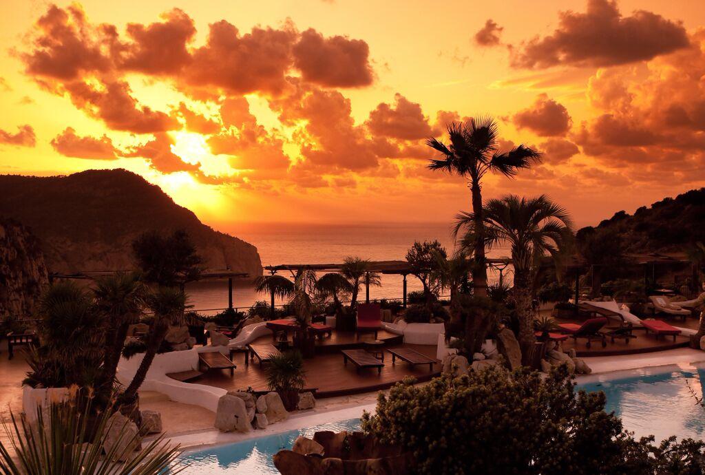 Hacienda na Xamena Ibiza lounge