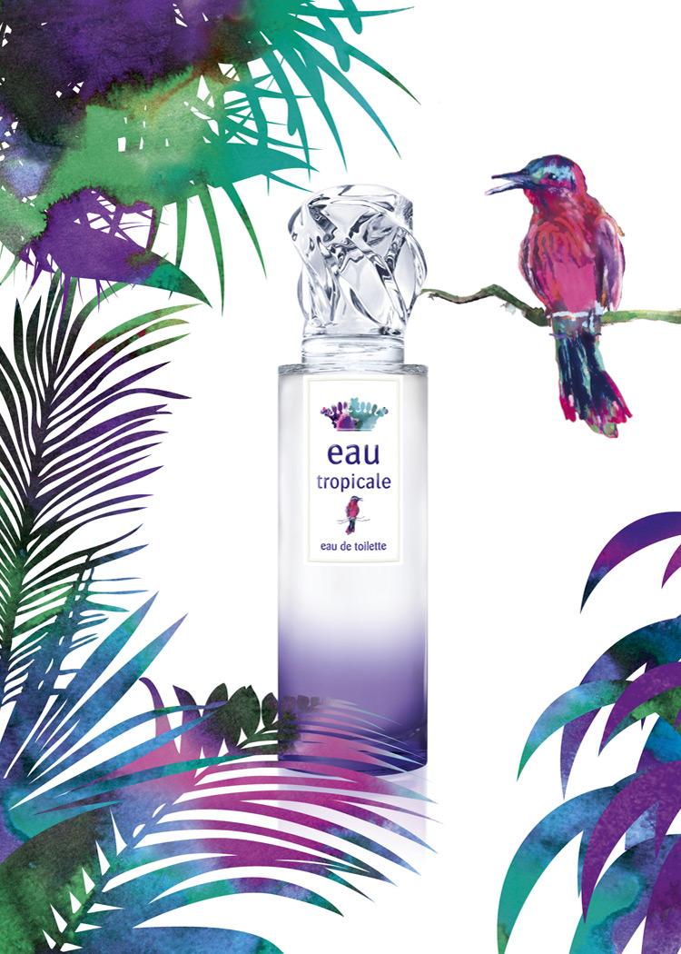 Sisley Eau Tropicale - Sisley Reveal flacon